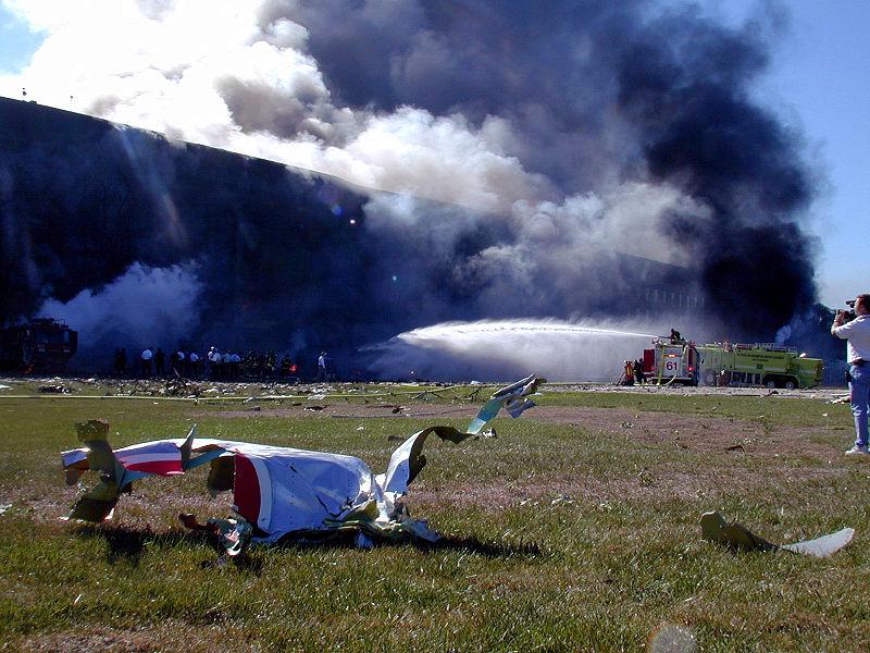 800px-Flight_77_wreckage_at_Pentagon